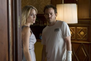 Stephen Dorff e Laura Chiatti in una sequenza di Somewhere