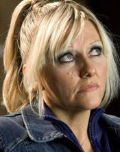 Camille Coduri in una scena di Doctor Who