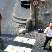 Carlo Verdone accanto a Nello Appodia in Un sacco bello