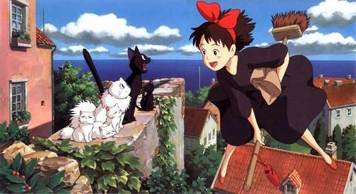 La Piccola Kiki E Jiji In Una Sequenza Del Cartoon Kiki Consegne A Domicilio Del 1989 172210