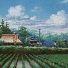 Seita e Setsuko in una scena del film d'animazione La tomba per le lucciole