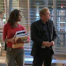 Adam Rodriguez, David Caruso ed Eva La Rue nell'episodio Fallen, premiere della stagione 9 di CSI Miami