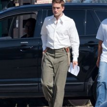 Pattinson sul set di Water for Elephants