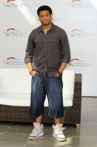 Tristan Wilds, star di 90210, all'edizione 2010 del Television Festival di Montecarlo