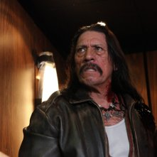 Un'immagine del film Machete con Danny Trejo