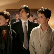 Alba Rohrwacher, Luca Marinelli e Isabella Rossellini nel film La solitudine dei numeri primi