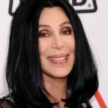 Cher posa per i fotografi