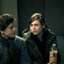 Emily Cox con Theo Trebs nell'horror tedesco Rammbock
