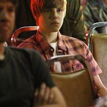 Justin Bieber nell'episodio Shock Waves di CSI