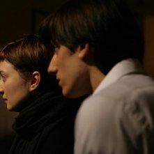 Luca Marinelli e Alba Rohrwacher nel film La solitudine dei numeri primi