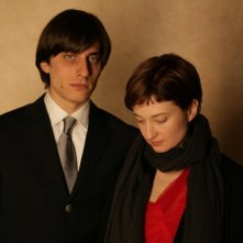 Luca Marinelli e Alba Rohrwacher, protagonisti del film La solitudine dei numeri primi