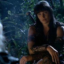 Lucy Lawless in Xena contro Velsinea, episodio di Xena
