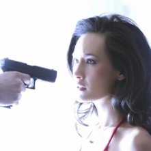 Maggie Q nel ruolo di Nikita in una scena del pilot della serie della CW
