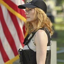 Marg Helgenberger nell'episodio Shock Waves di CSI