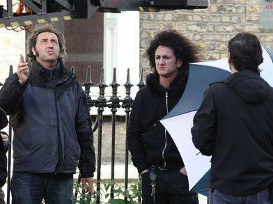 Paolo Sorrentino E Sean Penn Sul Set Di This Must Be The Place 172515