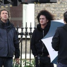 Paolo Sorrentino e Sean Penn sul set di This Must Be the Place.
