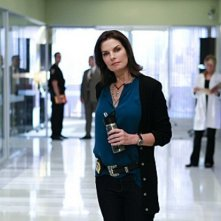 Sela Ward, new entry della serie, nell'episodio The 34th Floor di CSI: New York