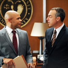 Titus Welliver e Chris Butler nell'episodio Taking Control di The Good Wife