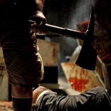 Un'immagine tratta dall'horror The Horde