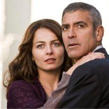Violante Placido accanto a George Clooney nel film The American