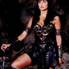 Xena, stagione 4: Lucy Lawless in una foto promozionale