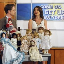 Collin Christopher e Cobie Smulders in una scena dell'episodio Zoo or False di How I Met Your Mother