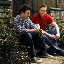 Josh Radnor e Jason Segel nell'episodio Home Wreckers di How I Met Your Mother