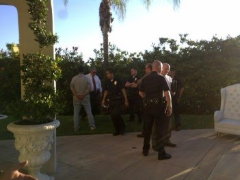 La polizia arresta un ladro a casa di Paris Hilton