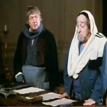 Nello Appodia insieme a Riccardo Billi (Aronne Piperno) nel film di Mario Monicelli IL MARCHESE DEL GRILLO