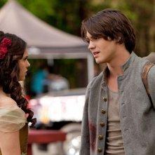 Elena (Nina Dobrev) e Jeremy (Steven R. McQueen) nell'episodio Il giorno dei fondatori di Vampire Diaries