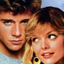 foto promozionale - Maxwell Caulfield e Michelle Pfeiffer in Grease 2