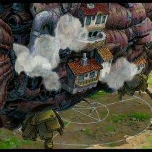 Il magico castello del film d\'animazione Il castello errante di Howl