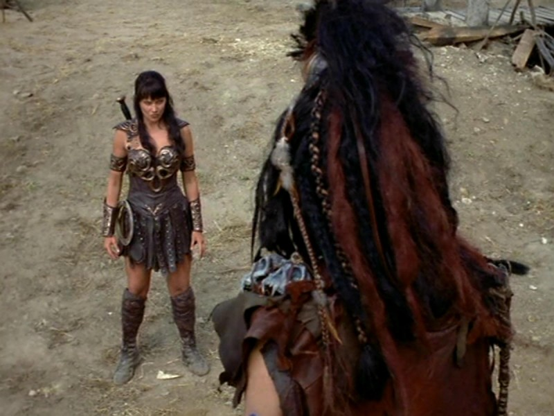 Lucy Lawless In Xena E Il Ritorno Al Passato 173064