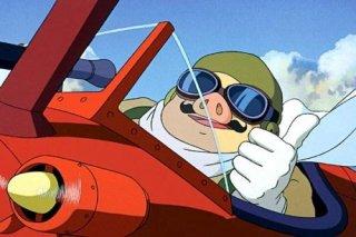 Marco Paggot è il protagonista del film d\'animazione Porco Rosso