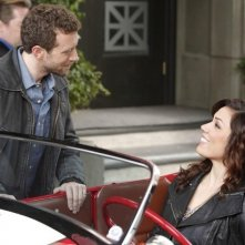 TJ Thyne e Michaela Conlin nell'episodio The Beginning in the End di Bones