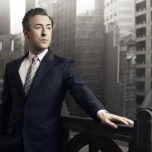 Alan Cumming in una foto promozionale della stagione 2 di The Good Wife