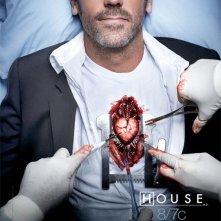 Un poster della stagione 7 di Dr House