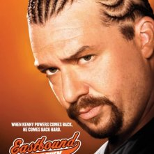 Un poster della stagione 2 di Eastbound & Down