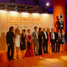 Il cast de Il peccato e la vergogna al Roma Fiction Fest 2010