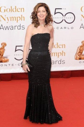 L'attrice Dana Delany all'edizione 2010 del Television Festival di Montecarlo