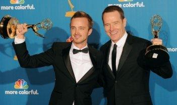 Aaron Paul e Bryan Cranston, miglior attori drammatici per Breaking Bad agli Emmy 2010