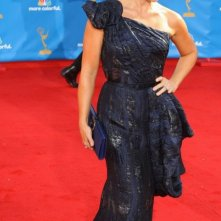 Jane Krakowski sul tappeto rosso degli Emmy 2010