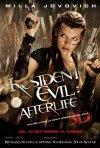Locandina italiana di Resident Evil: Afterlife