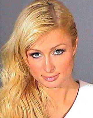 Paris Hilton in commissariato