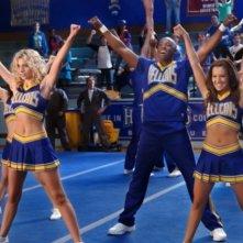 Ashley Tisdale, Robbie Jones ed Alyson Michalka nel pilot della serie Hellcats