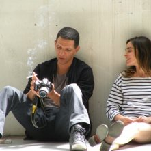 Roschdy Zem con Elodie Bouchez nel film Happy Few