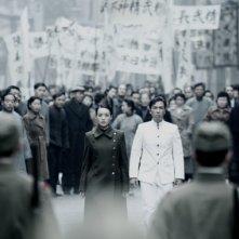 Un'immagine di Legend of the Fist: The Return of Chen Zhen con Donnie Yen e Qi Shu