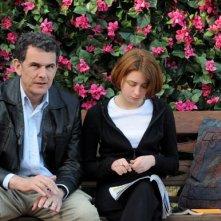 Corso Salani e Irene De Angelis in una scena del film L'amore buio (2010)
