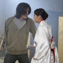 Jamie Chung in una scena del primo episodio di Samurai Girl