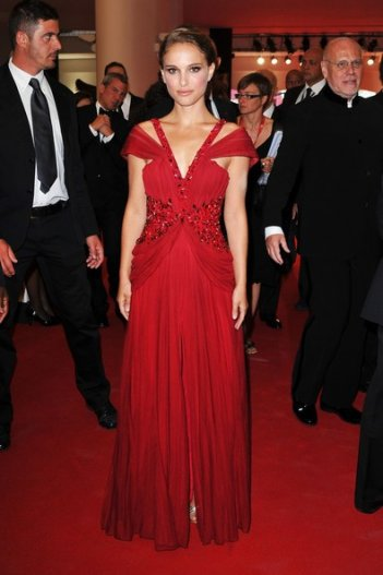 Natalie Portman, sul red carpet di Venezia 2010 per presentare Black Swan